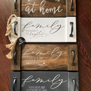 Rustic Serving Trays